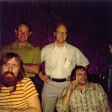 Max, Scott, Dee Robb, Del Shannon - Cherokee Studios