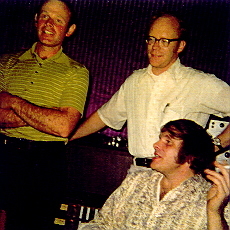 Max Crook, Scott Ludwig, Del Shannon - 1973